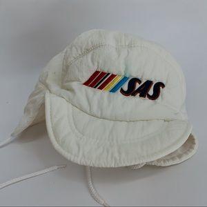 Vintage Accessories - 🍂VINTAGE Yupoong SASS hat winter pilot cap brim